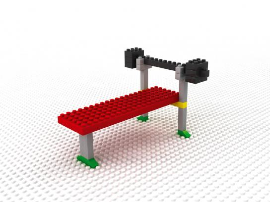 Lego Print Ad -  Mind