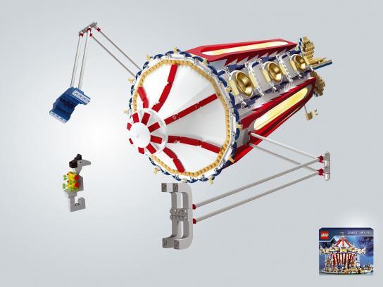 Lego Print Ad -  Grand Carousel