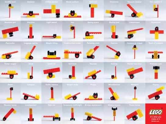 Lego Print Ad -  It's what you make of it, 2