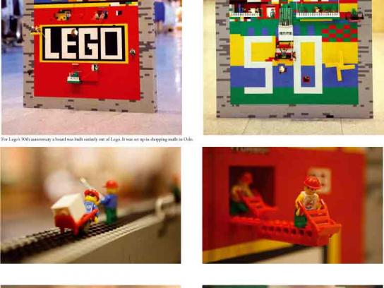 Lego Ambient Ad -  50th Anniversary