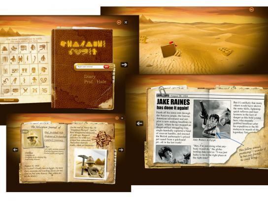 Lego Digital Ad -  Pharaoh's Quest