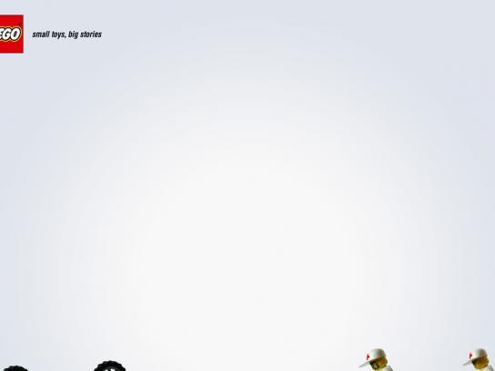 Lego Print Ad -  Ambulance