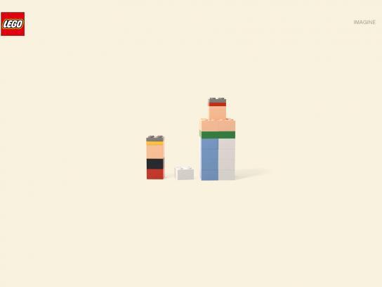 Lego Print Ad -  Asterix and Obelix