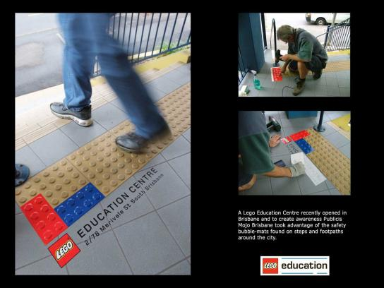 Lego Ambient Ad -  Pavement