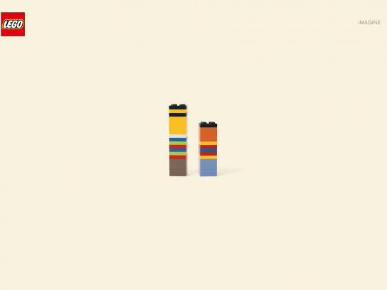 Lego Print Ad -  Ernie and Bert