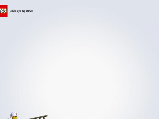Lego Print Ad -  Firefighter