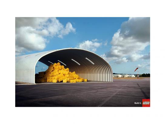 Lego Print Ad -  Hangar