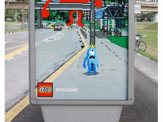 Lego Outdoor Ad -  Monster