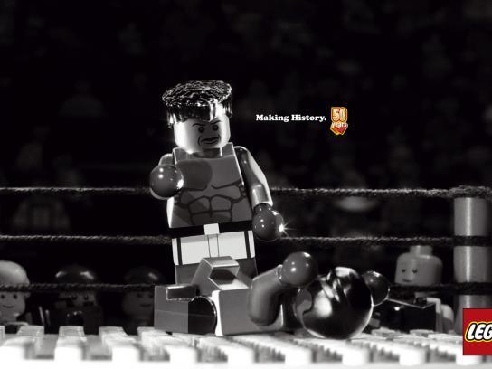 Lego Print Ad -  Ali