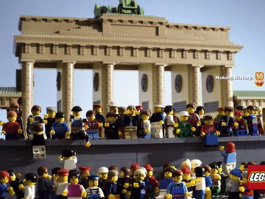 Lego Print Ad -  Brandenburg Gate