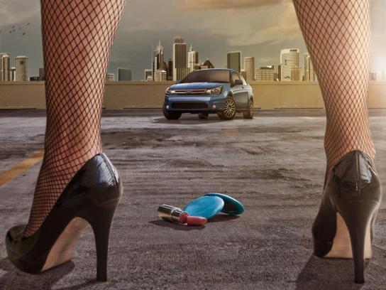 Ford Print Ad -  Legs, 1