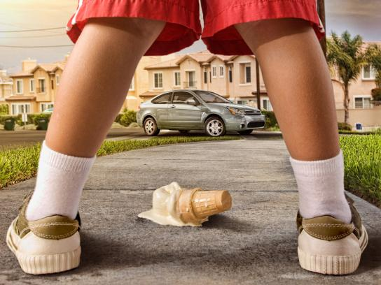 Ford Print Ad -  Legs, 3