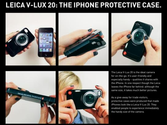 Leica Direct Ad -  The iPhone Protective Case