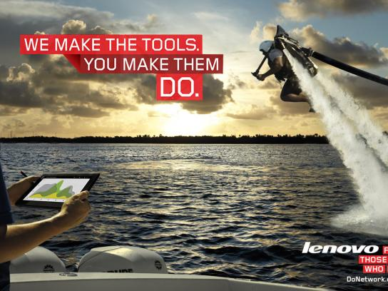 Lenovo Print Ad -  For those who do, 1