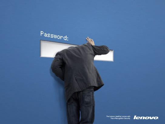Lenovo Ambient Ad -  Face recognition