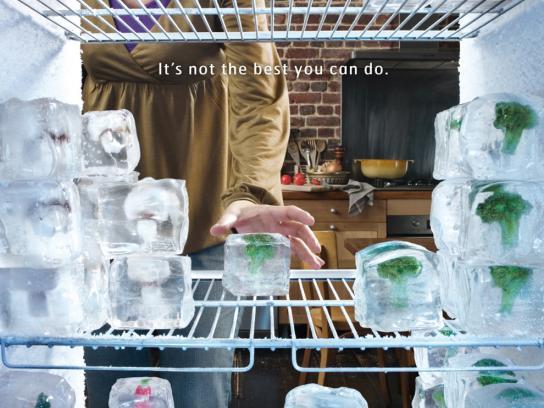 Le Parfait Print Ad -  Ice cubes