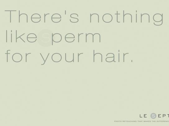 Le Sept Print Ad -  Sperm