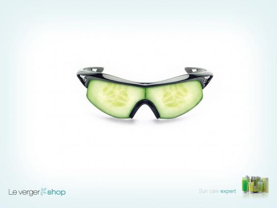 Le Verger Print Ad -  Sun care expert, 1