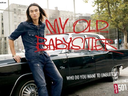Levi's Print Ad -  Babysitter