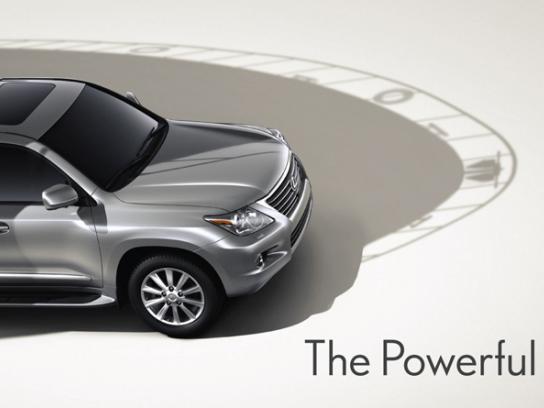 Lexus Print Ad -  Boat