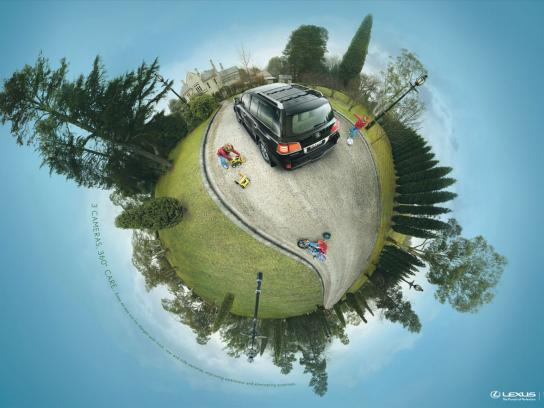 Lexus Print Ad -  Safety