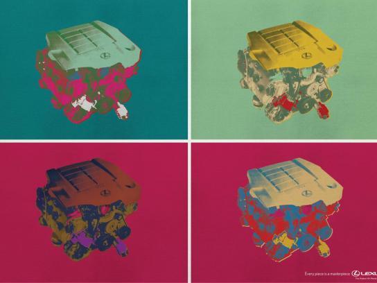 Lexus Print Ad -  Warhol
