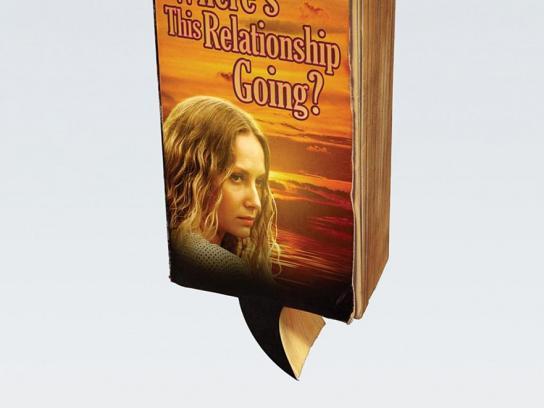 LG Outdoor Ad -  Romance Novel