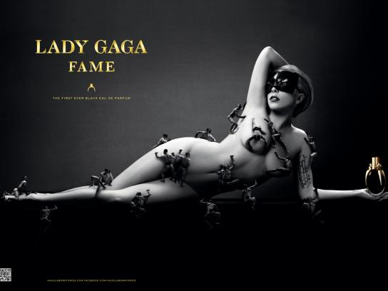 Coty Outdoor Ad -  Lady Gaga Fame