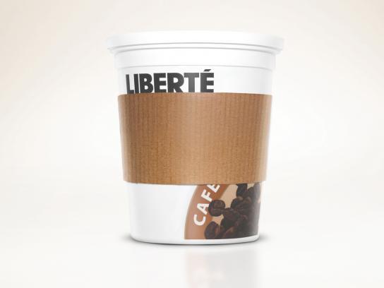 Liberté Print Ad -  Pots, Cafe