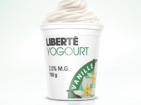 Liberté Print Ad -  Pots, Vanille