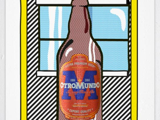Otro Mundo Print Ad -  Lichtenstein