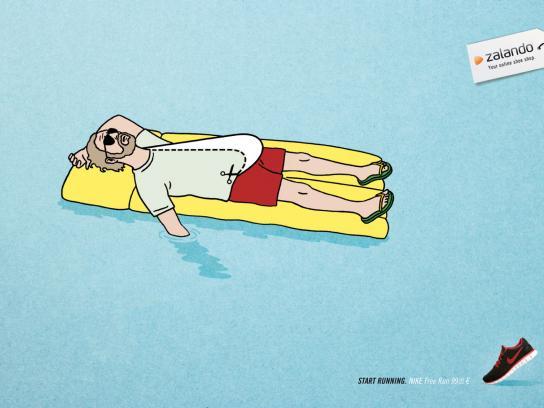 Zalando Print Ad -  Lilo