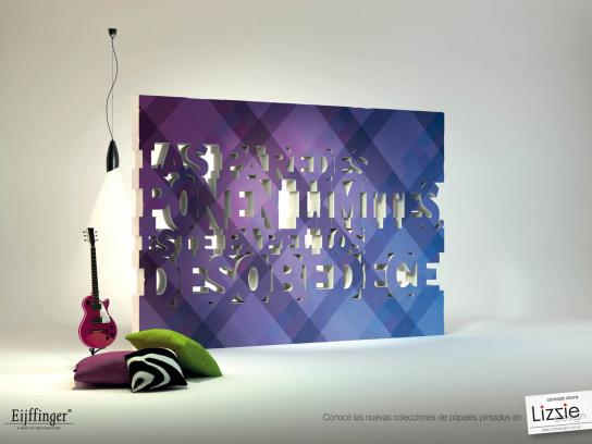 Lizzie Design Print Ad -  Limit