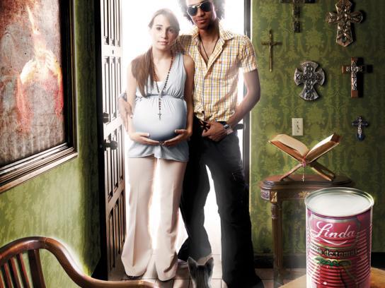 Linda Print Ad -  Pregnant