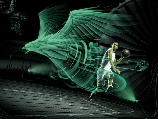LiNing Sports Print Ad -  Jose Calderon