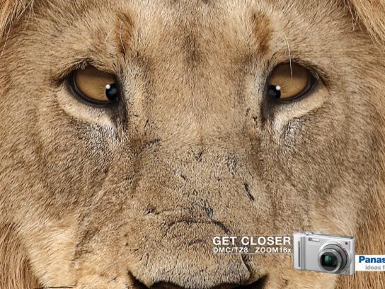 Panasonic Print Ad -  Lion