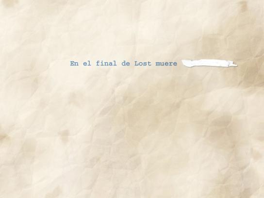 Liquid Paper Print Ad -  Lost