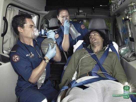 Listermint Print Ad -  Ambulance
