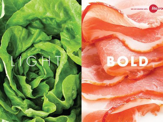 Litokromia Print Ad -  Light - Bold