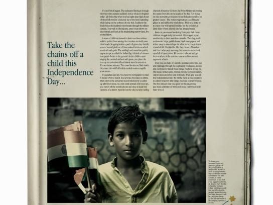 Little Stars Print Ad -  Independence Day