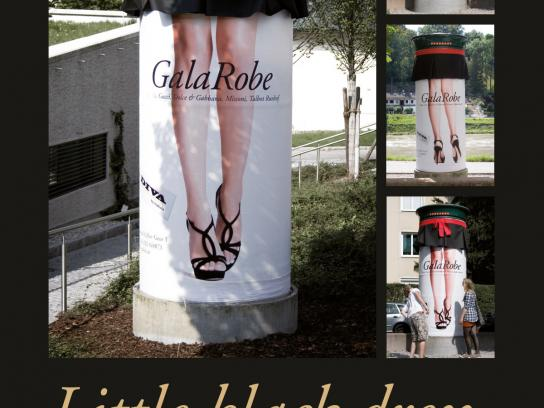 DIVA Outdoor Ad -  Little black dress