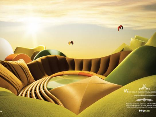 Living Edge Print Ad -  Better world, 1