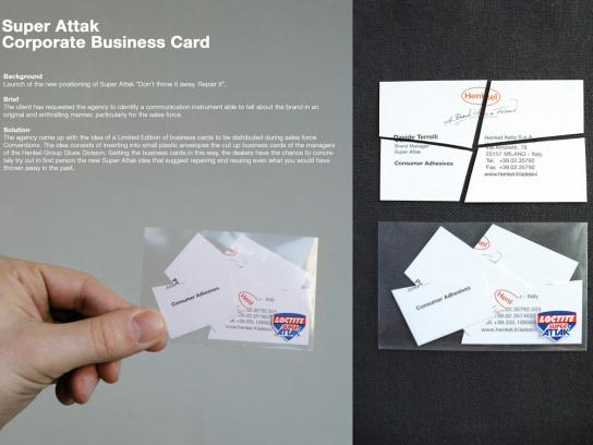 Loctite Direct Ad -  Business card
