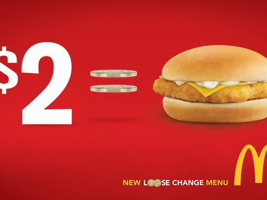 McDonald's Print Ad -  Loose Change, 1