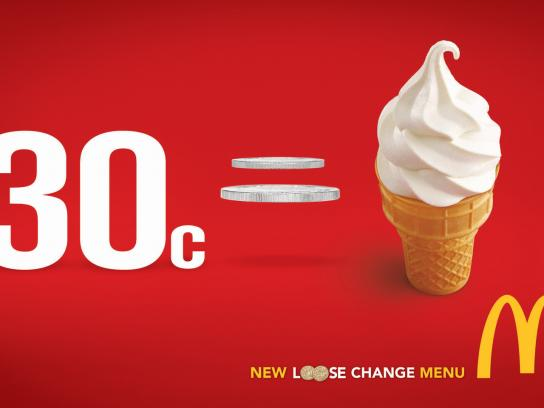 McDonald's Print Ad -  Loose Change, 2