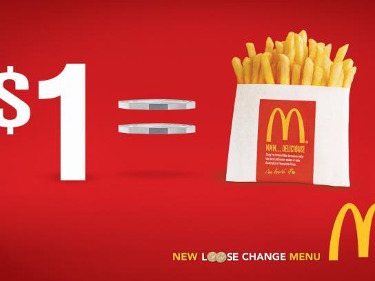 McDonald's Print Ad -  Loose Change, 3