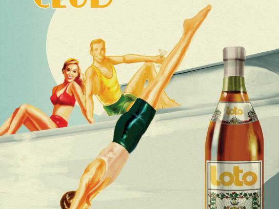 Loto Print Ad -  Club
