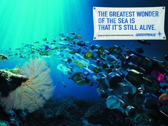 Greenpeace Print Ad -  Ocean defenders, 1