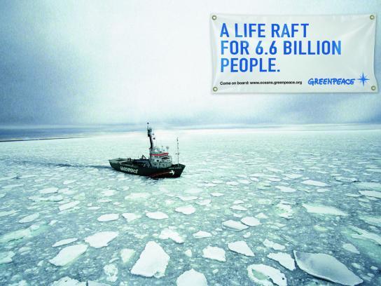 Greenpeace Print Ad -  Ocean defenders, 2