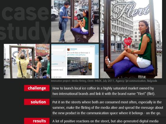 Imlek Ambient Ad -  Media Flirting